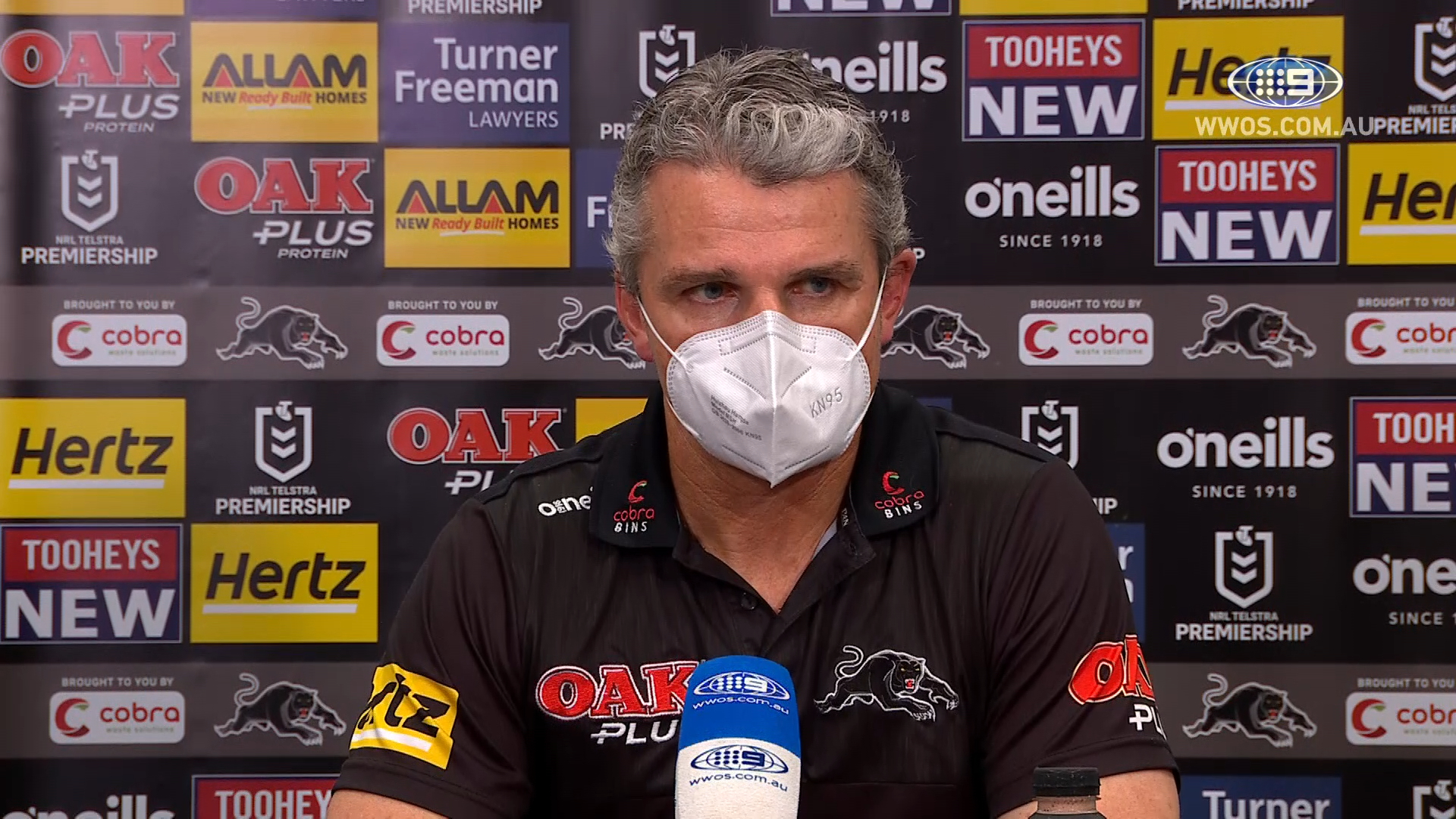 NRL Presser: Ivan shows no sympathy for his depleted Panthers - Round 20