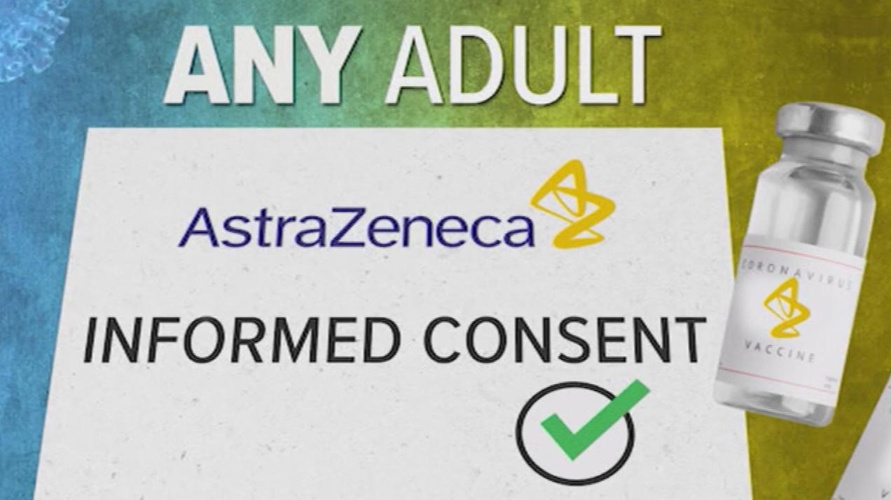 Vaccine targets depend on AstraZeneca 'take-up'