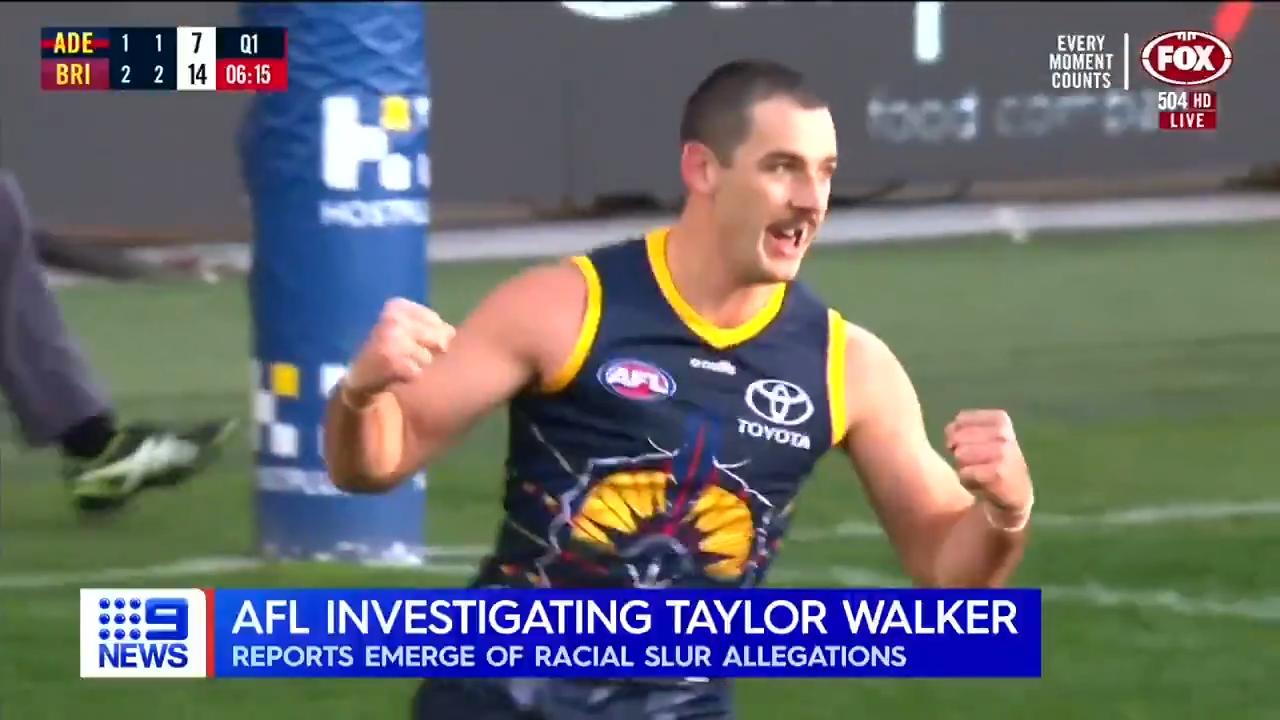Walker probed over alleged racial slur