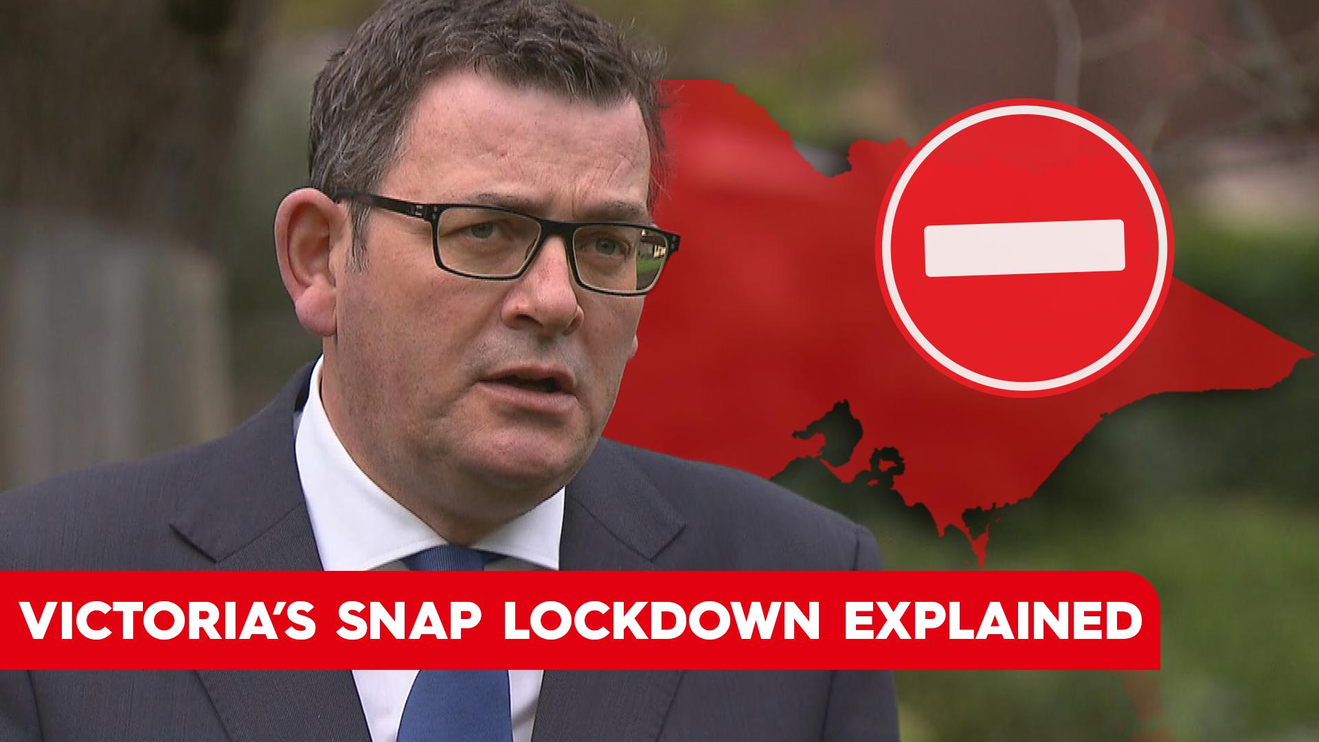 Victoria enters snap seven-day lockdown