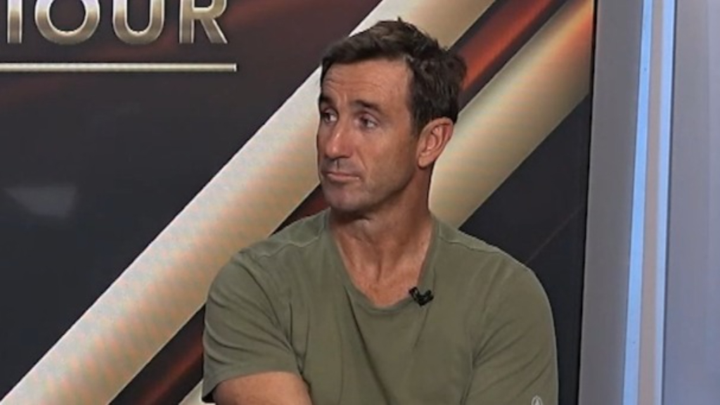 Andrew Johns' proposal  for Canberra's Curtis Scott