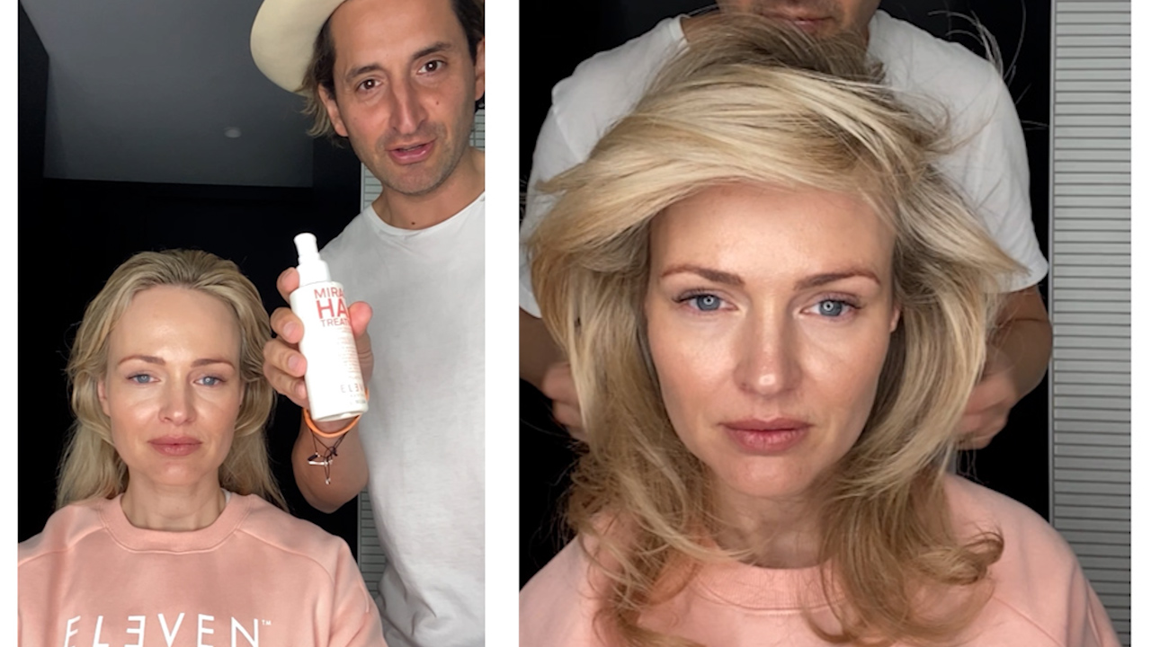 How to create the perfect blow wave at home