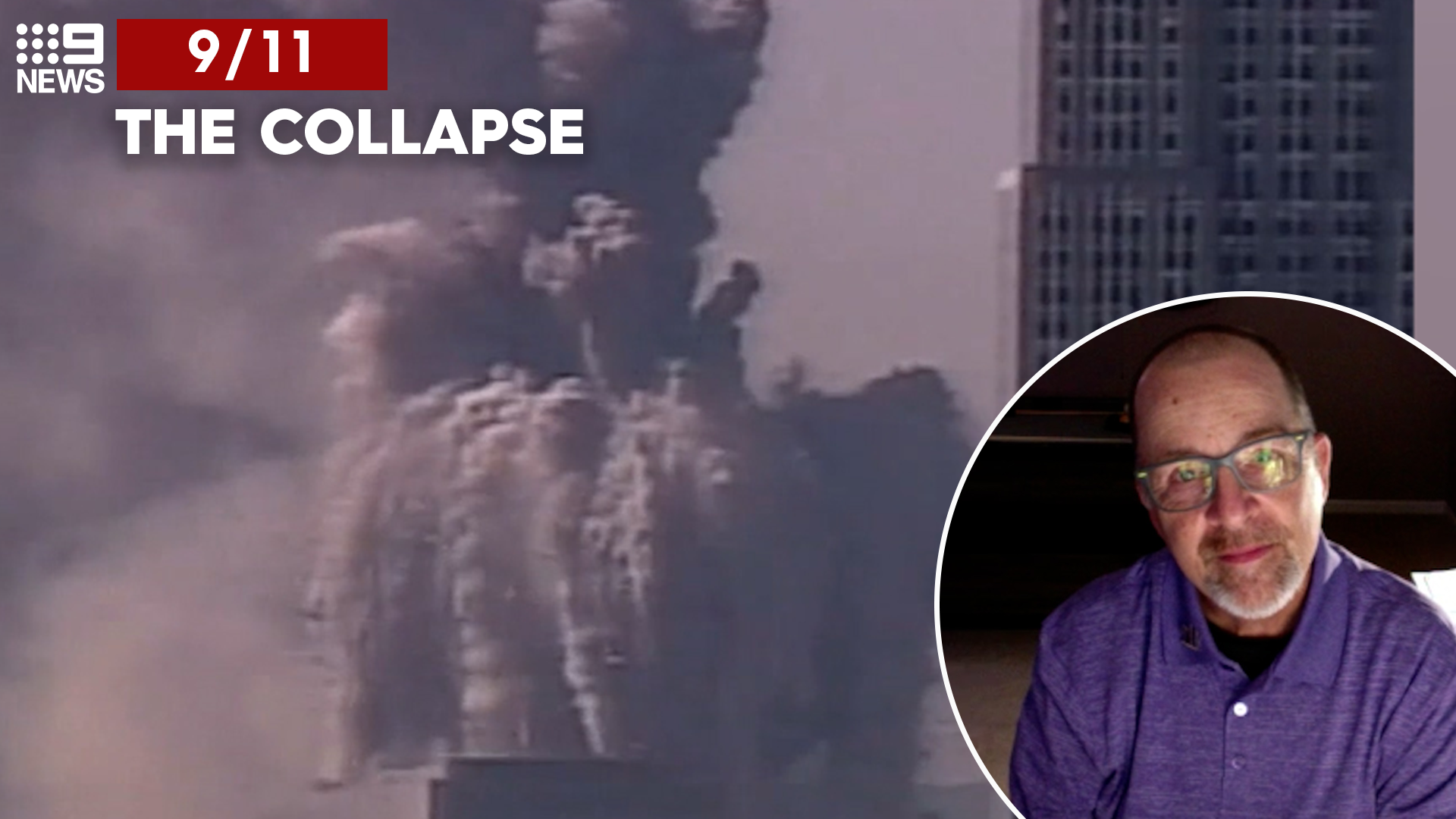 9/11: The collapse minutes after escape