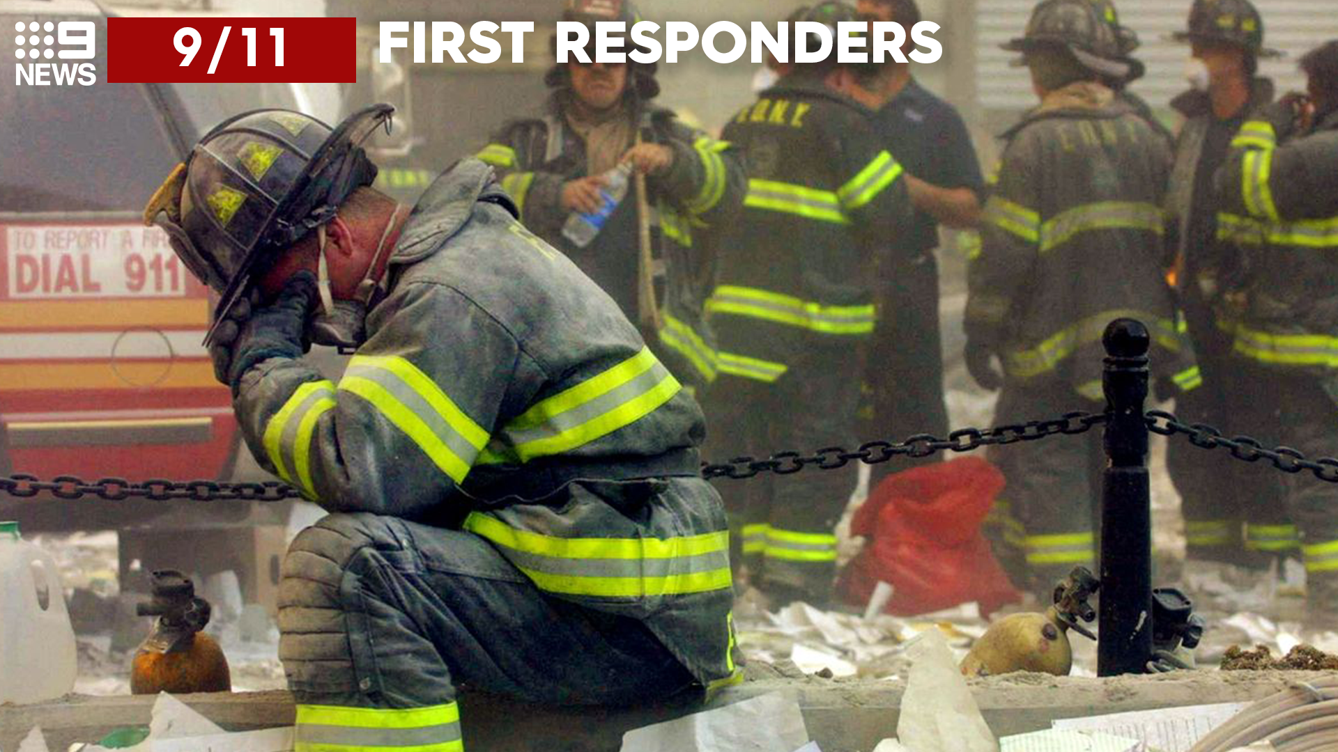 9/11: Passing the first responders in the stairwell