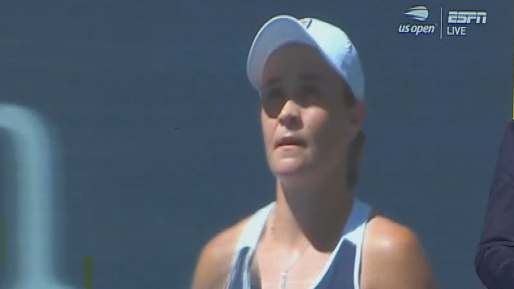 Barty advances at US Open