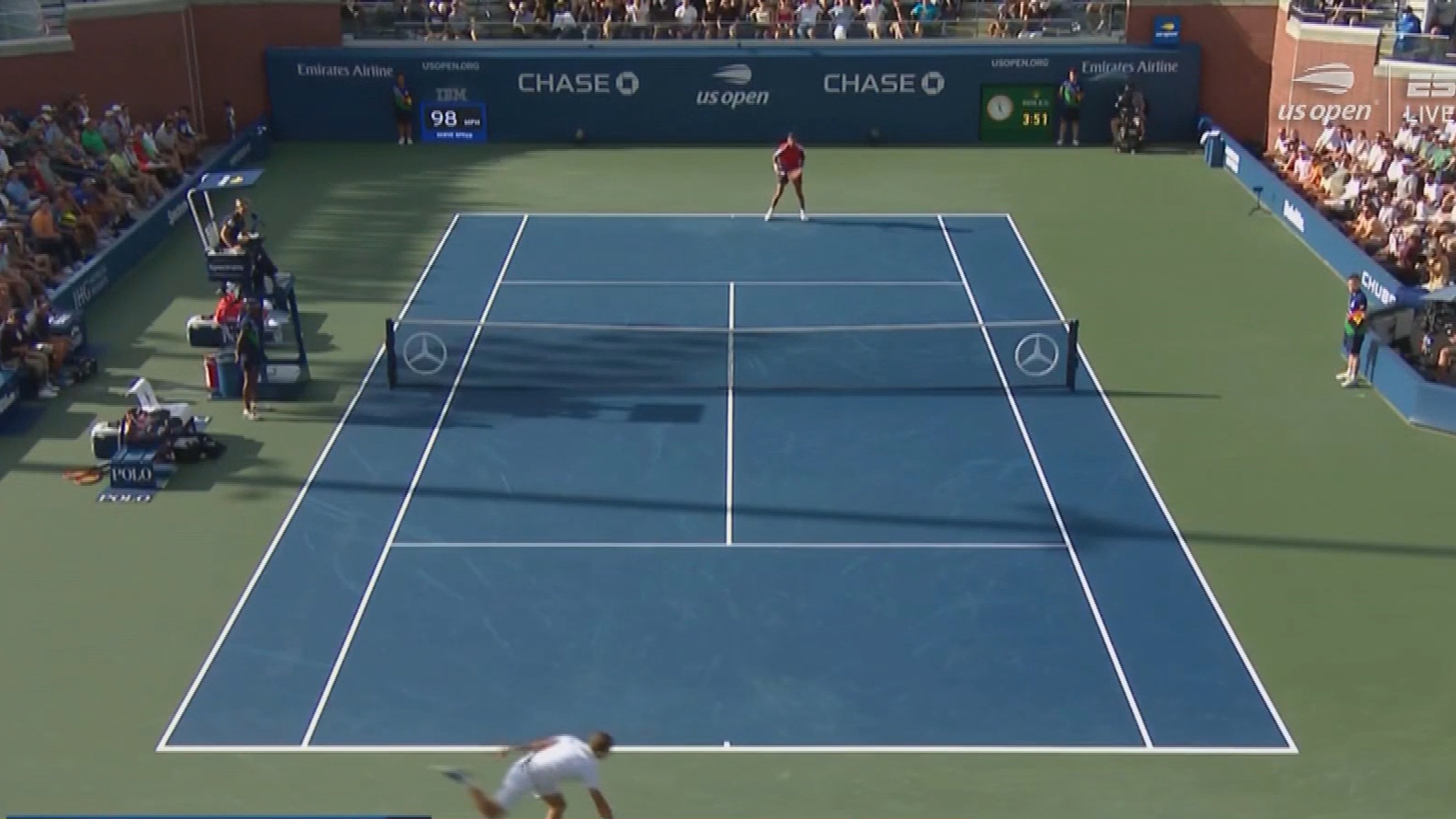 Popyrin goes down at US Open