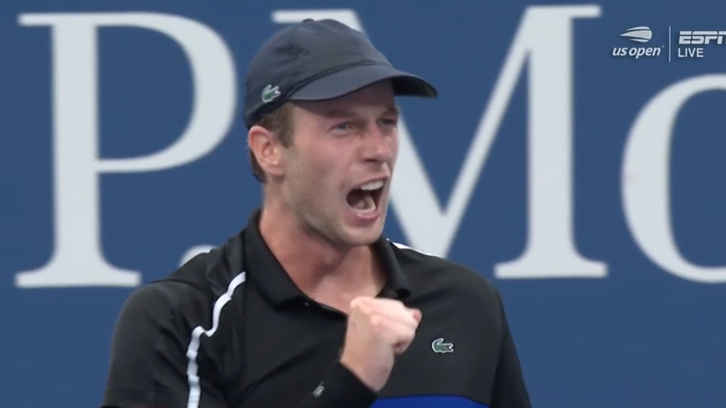Dutch qualifier continues magical US Open run