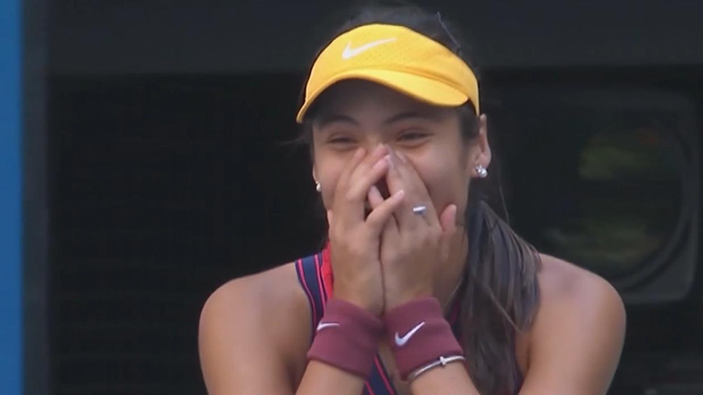 Raducanu downs Rogers at US Open