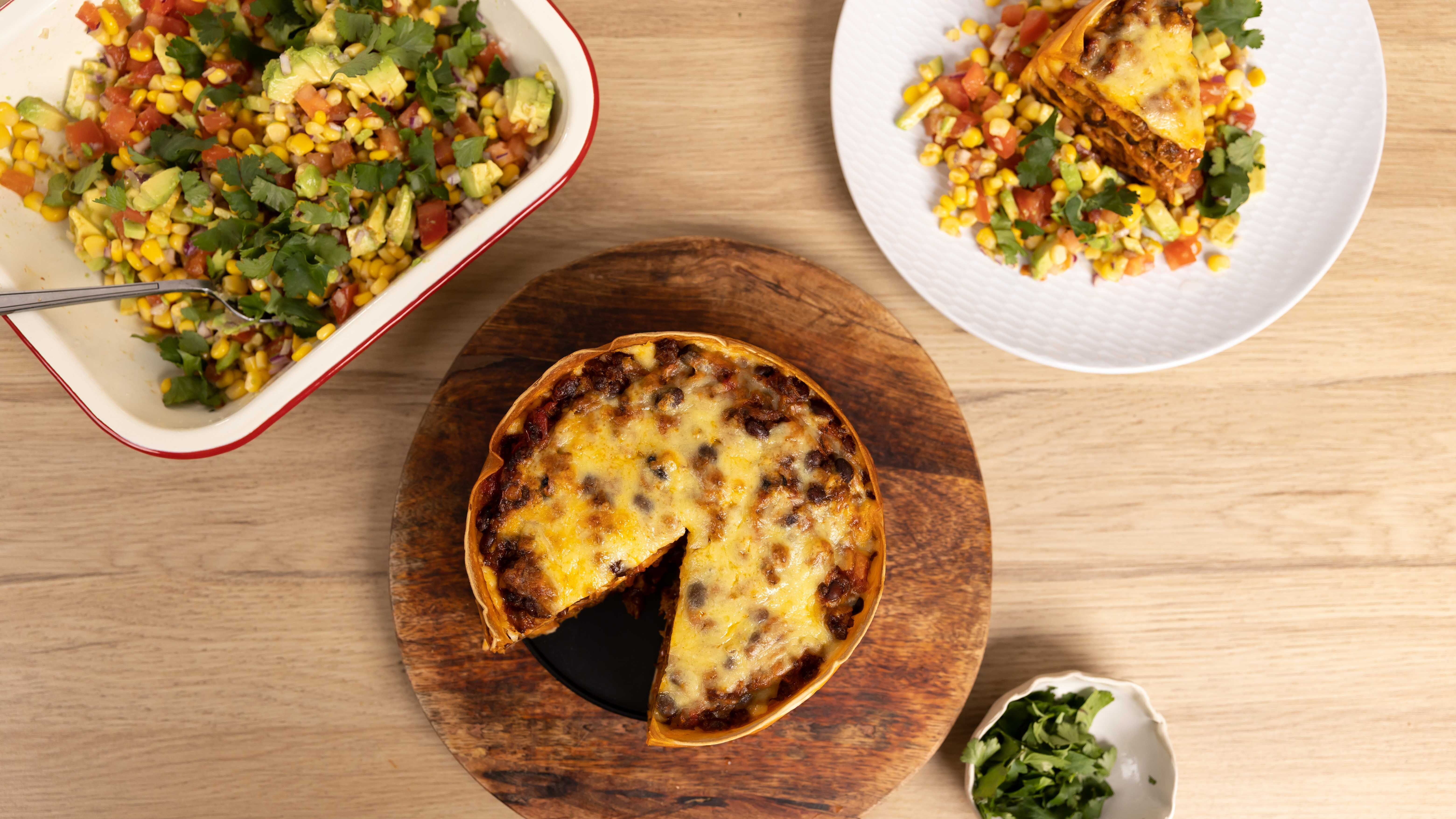 The recipe that reinvents your tortillas