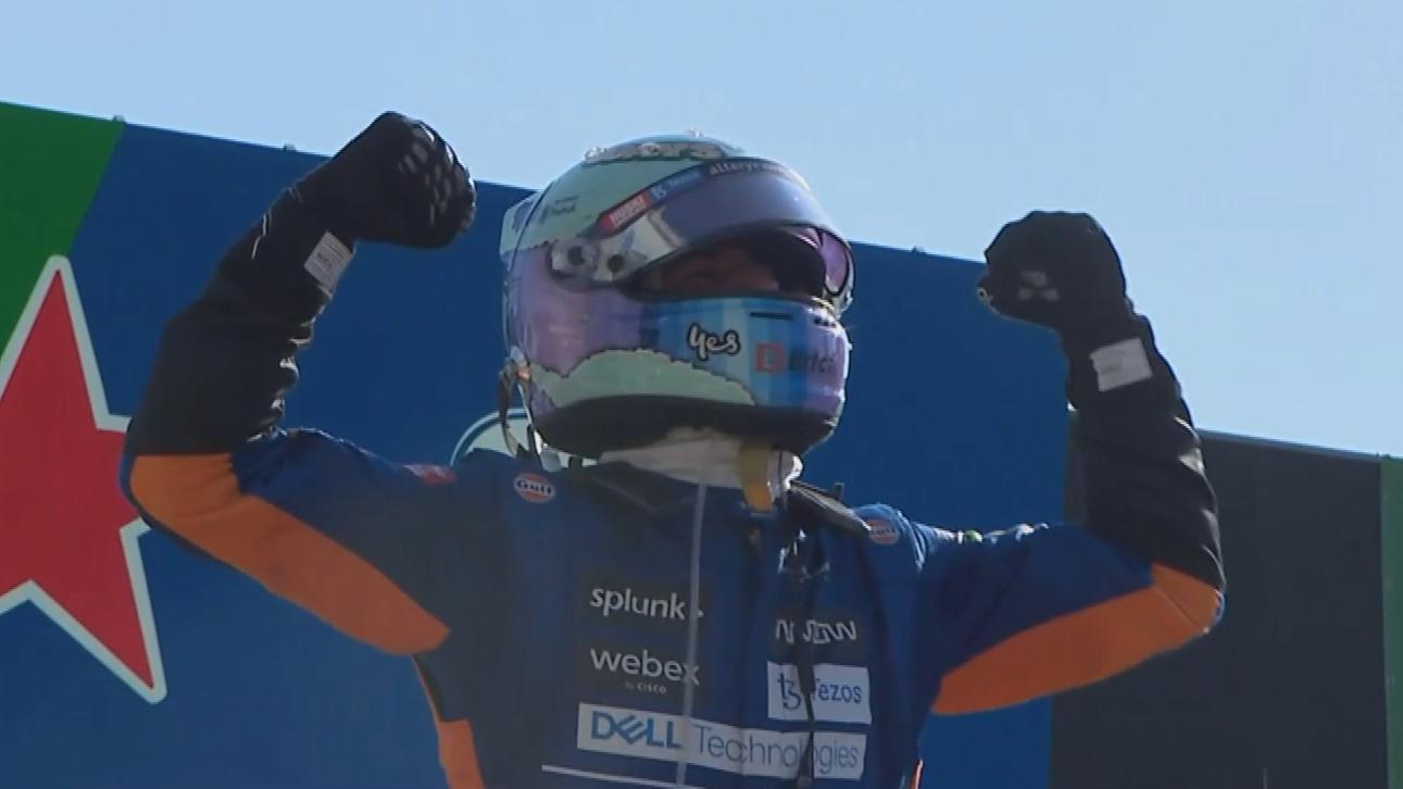 Ricciardo wins Italian Grand Prix