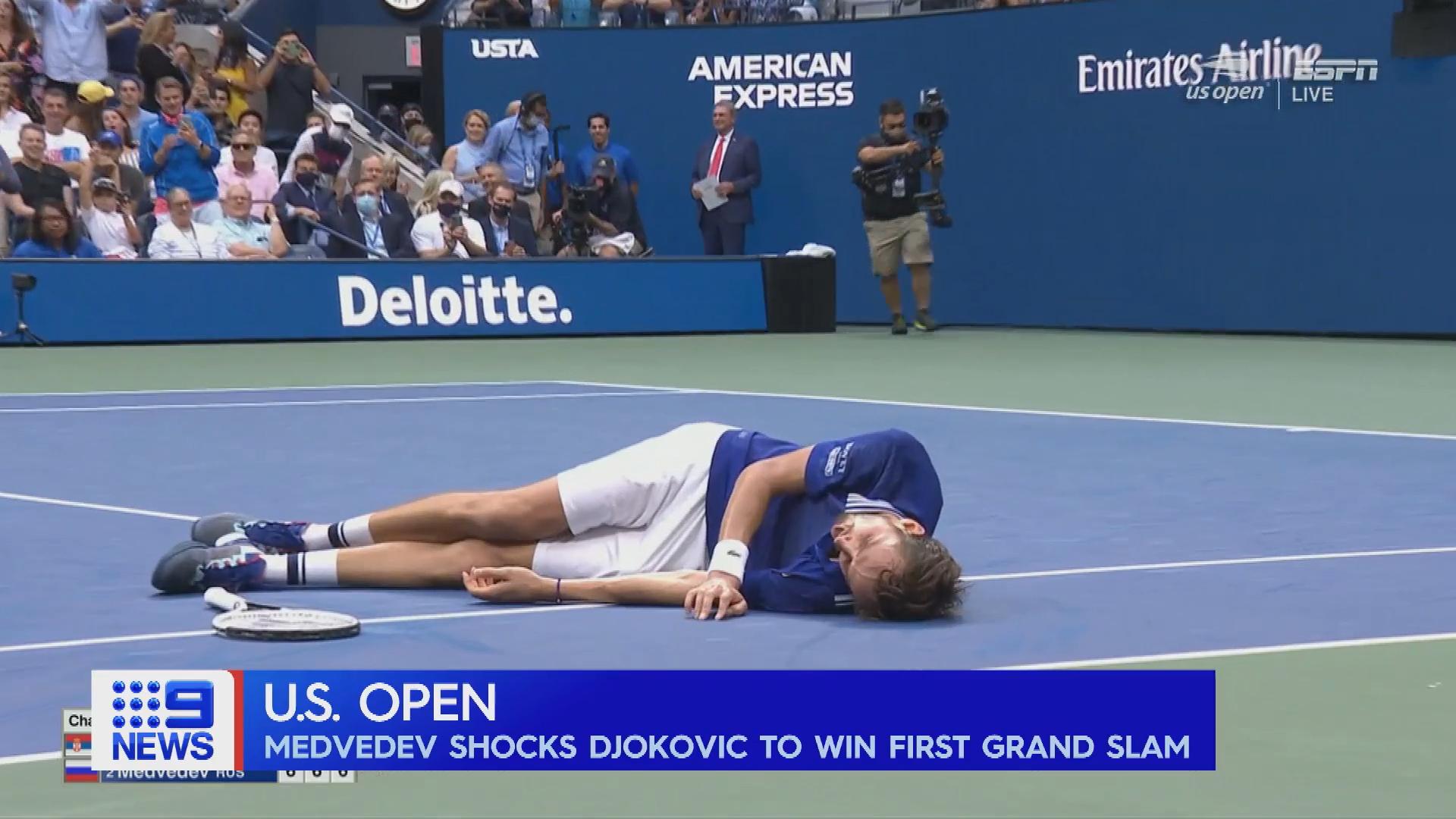 Medvedev US Open win denies Djokovic Grand Slam