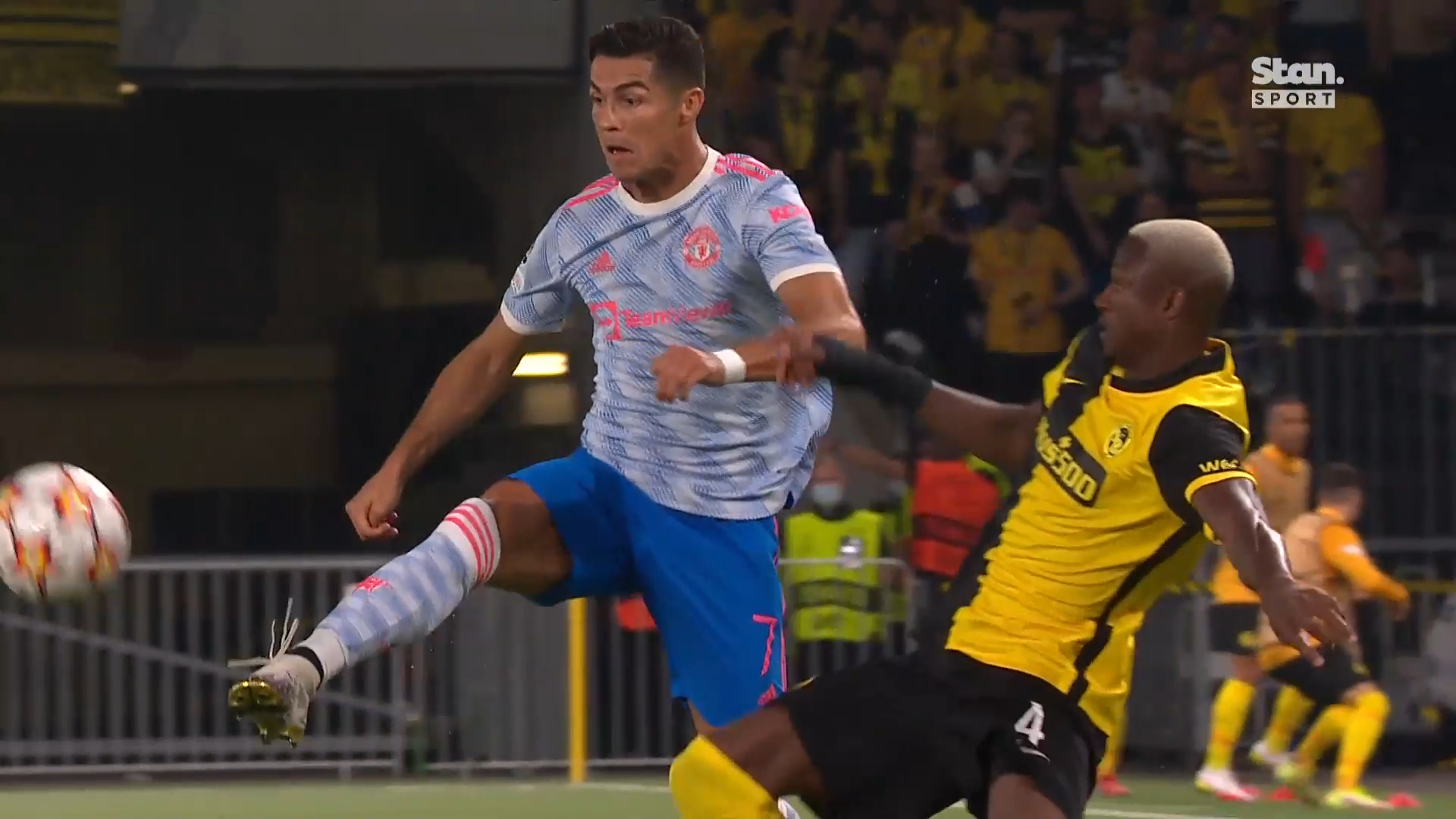 Champions League highlights: Young Boys vs Manchester United