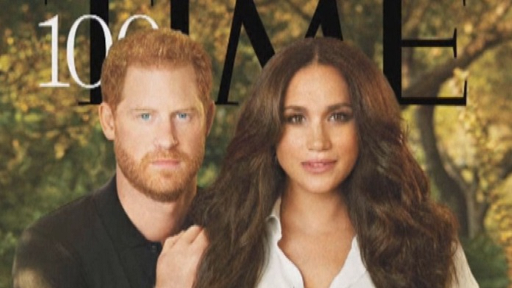 Meghan and Harry appear on TIME magazine cover