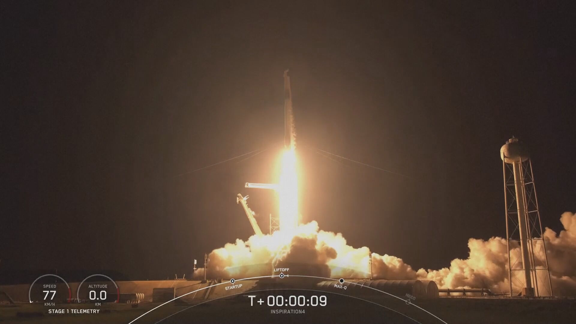 SpaceX successfully launches space flight carrying civilians