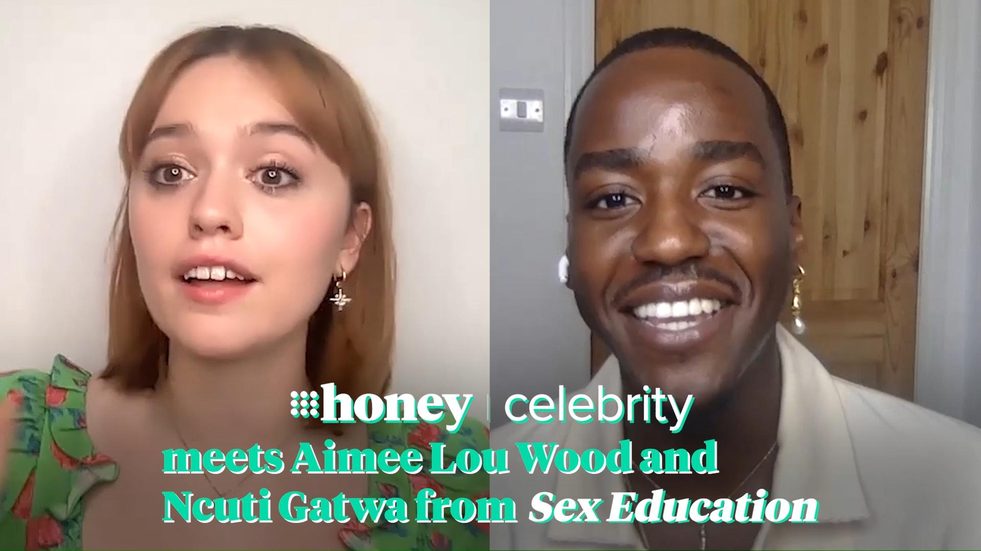 Ncuti Gatwa and Aimée Lou Wood on Sex Education Season 3
