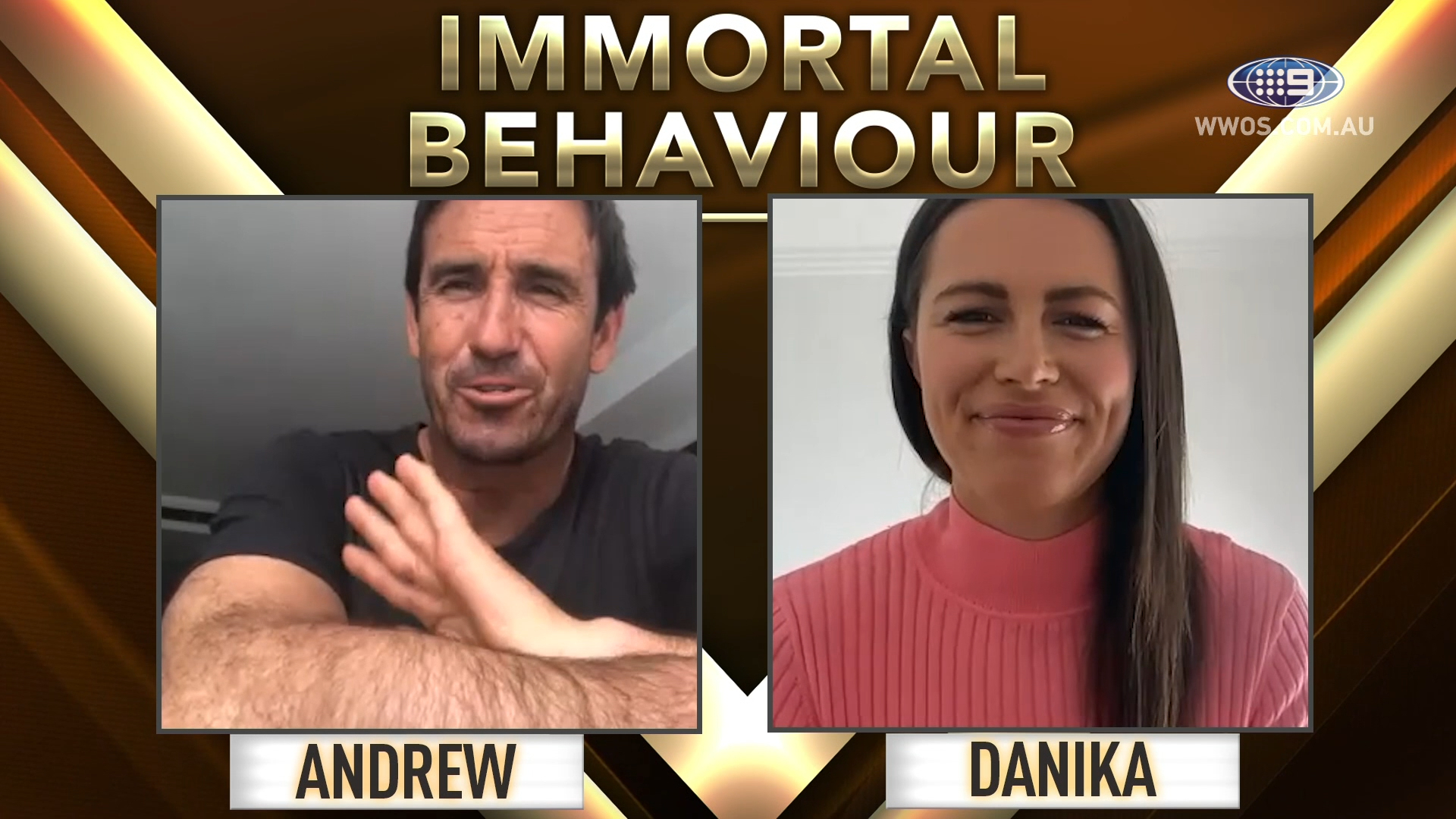 Immortal Behaviour: Joey completes his team of the year - Finals Week 1