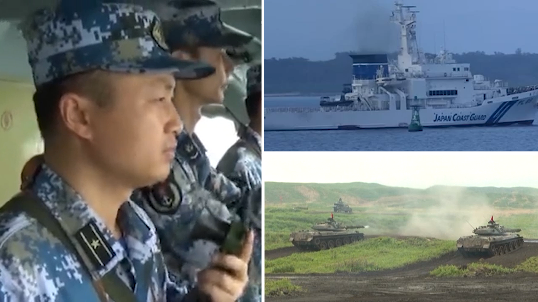 Japan's defence minister draws red line in island dispute with China