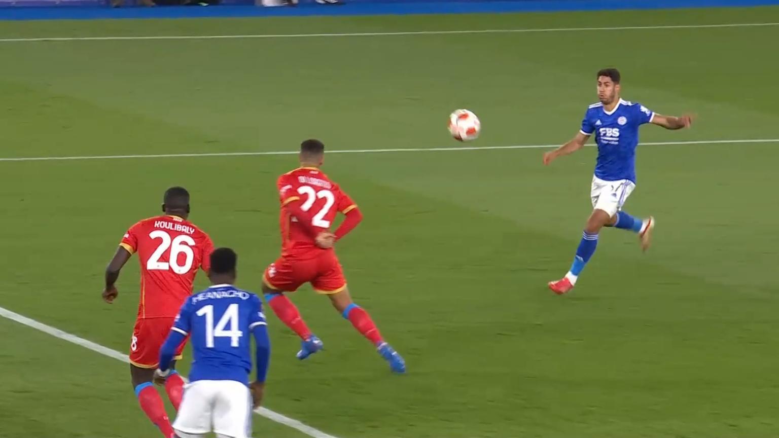 Europa League highlights: Leicester vs Napoli