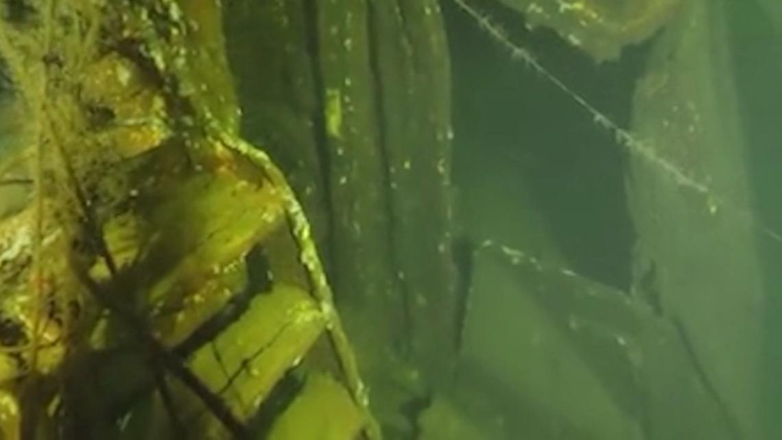 Divers find wreck of German World War II ship