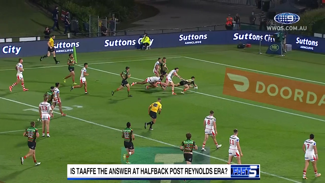 Who will be Bunnies halfback in 2022?
