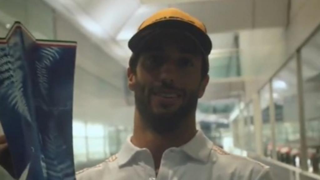 Ricciardo's 'surreal' moment following Monza win