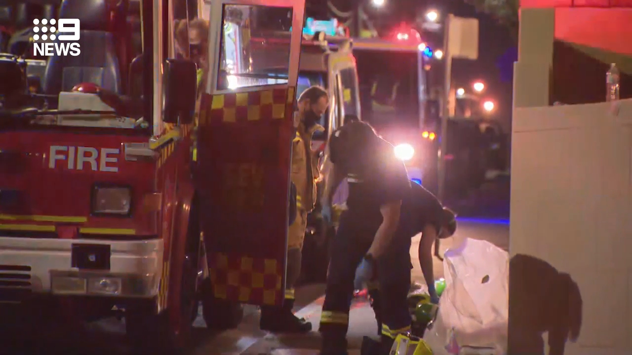 Police investigate a fatal unit fire in Sydney's Inner West