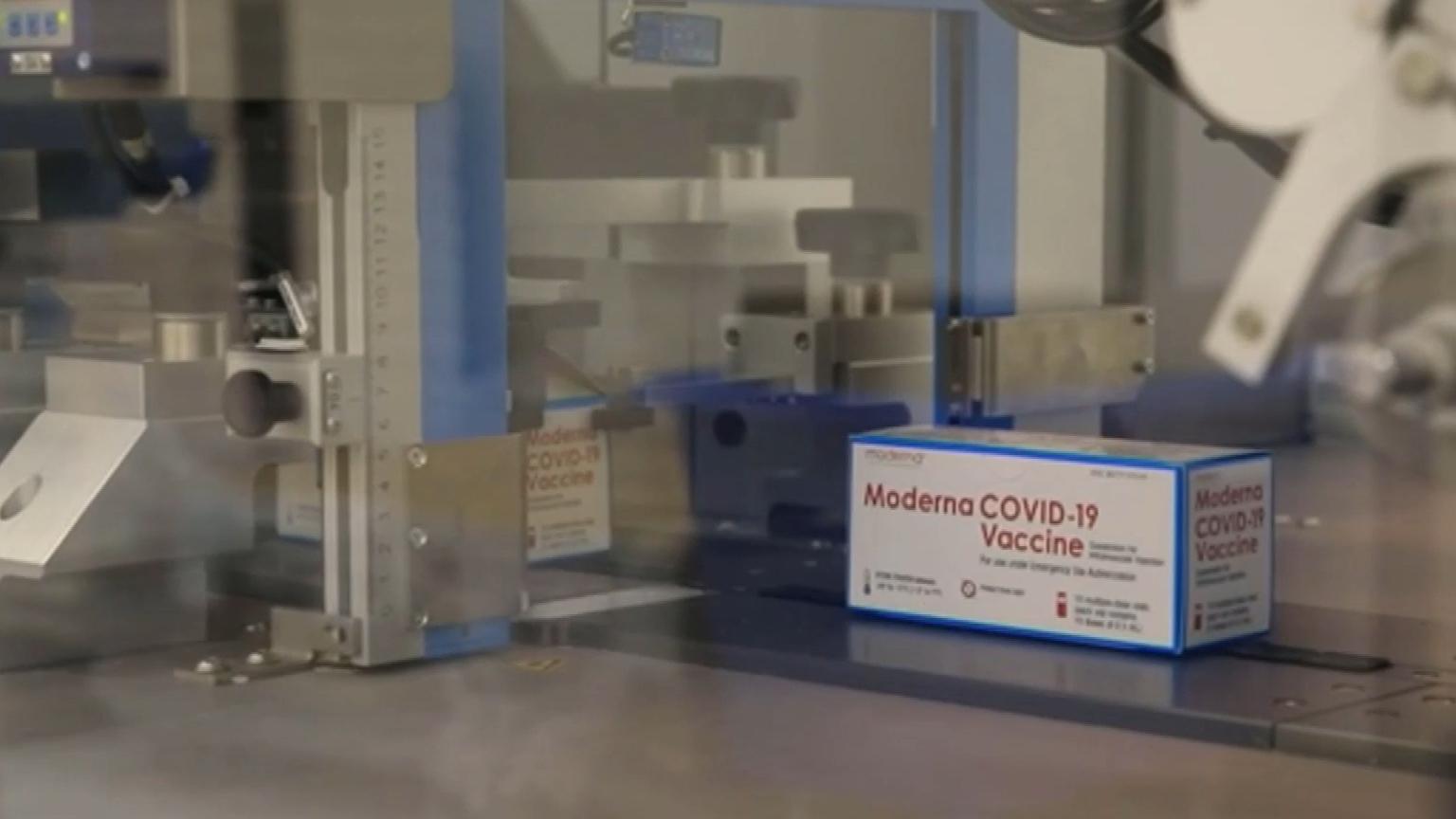 First Moderna vaccines arrive in Australia