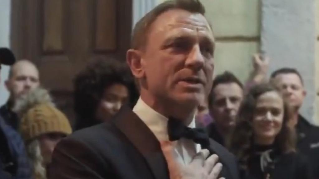 Daniel Craig tears up as final James Bond movie comes to a close