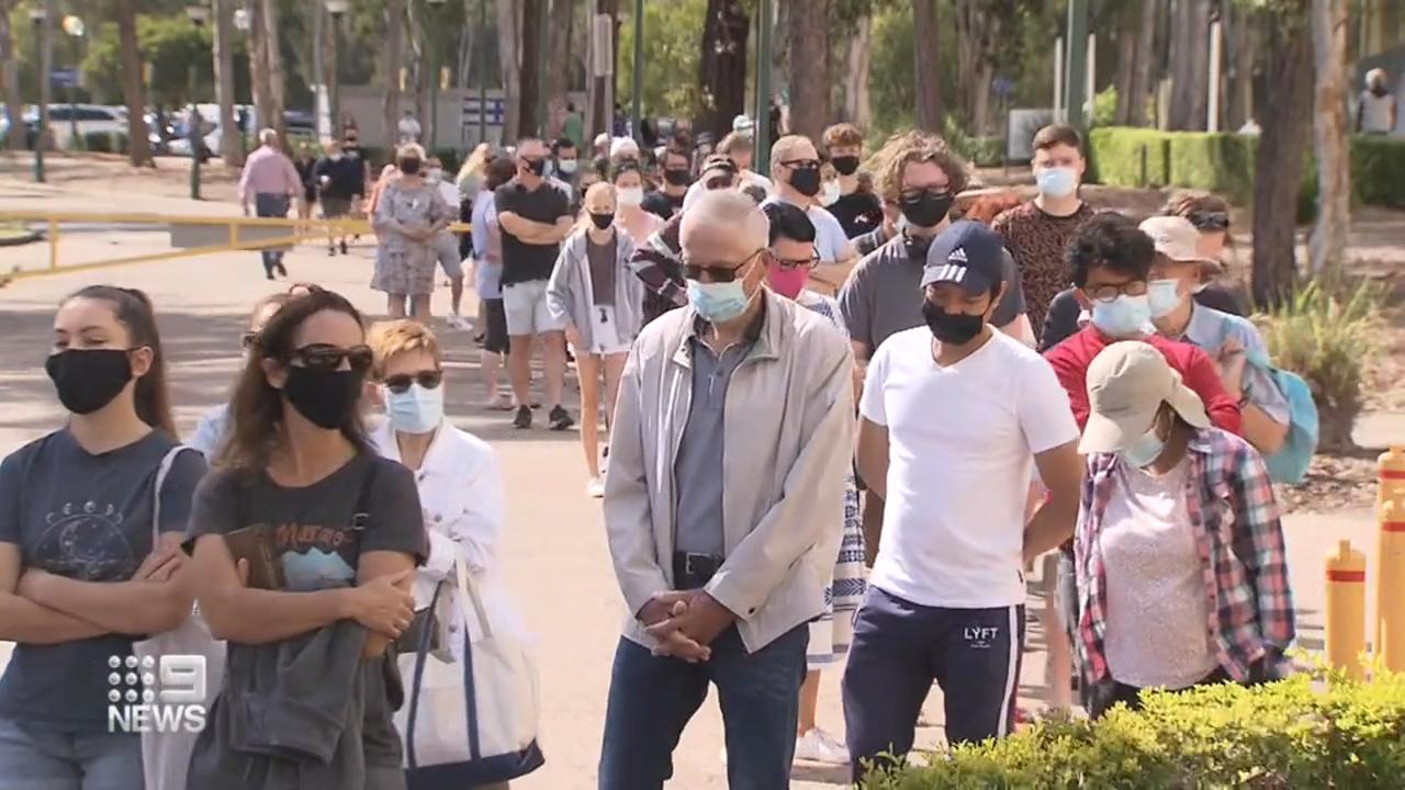 Thousands vaccinated in Queensland