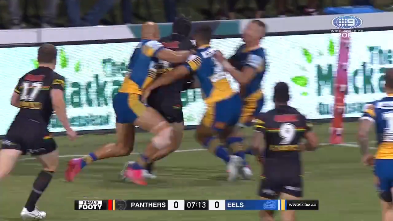 Incredible try-saving tackle denies Cleary