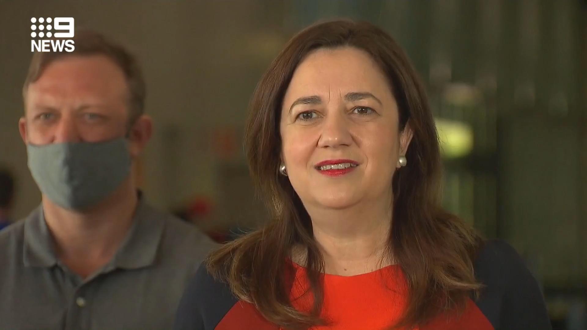 Queensland records no new cases as vaccine blitz continues