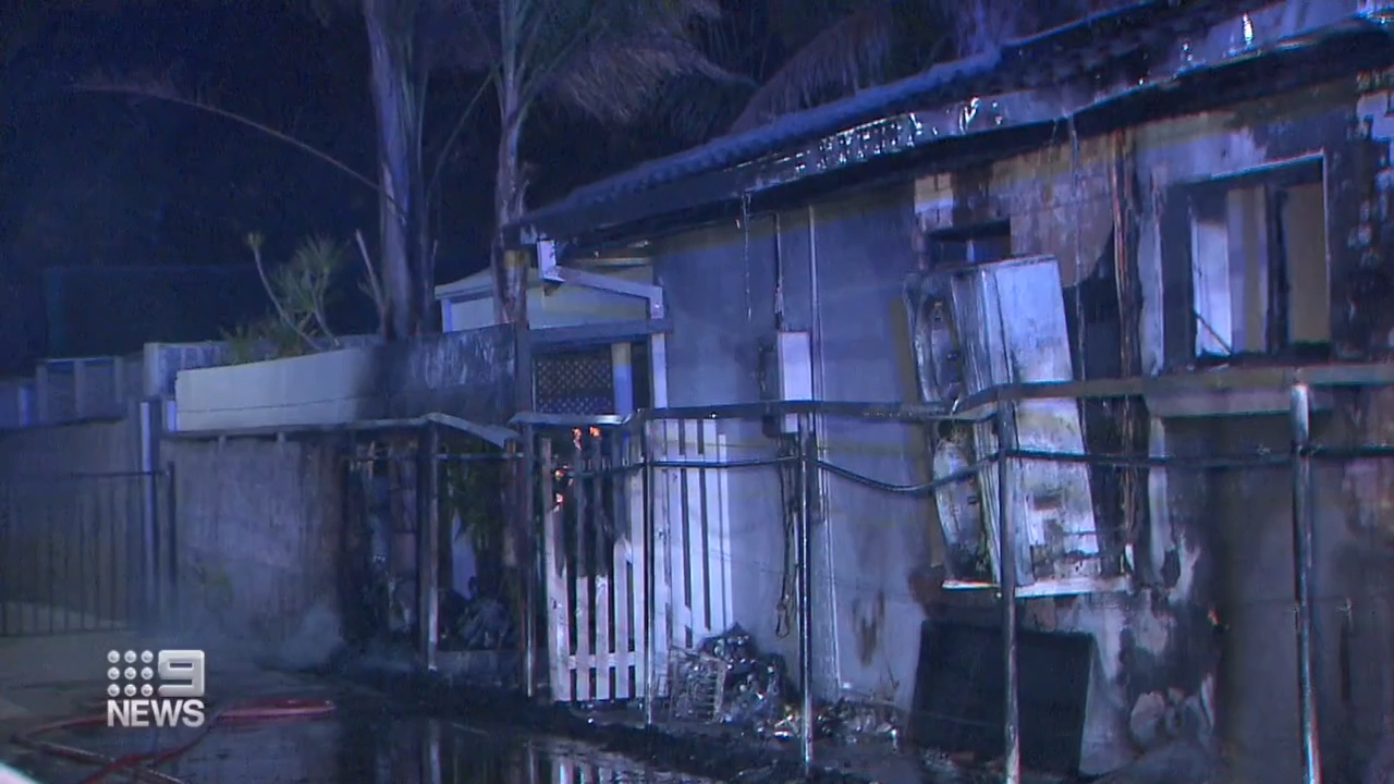 Teenager injured in arson attack