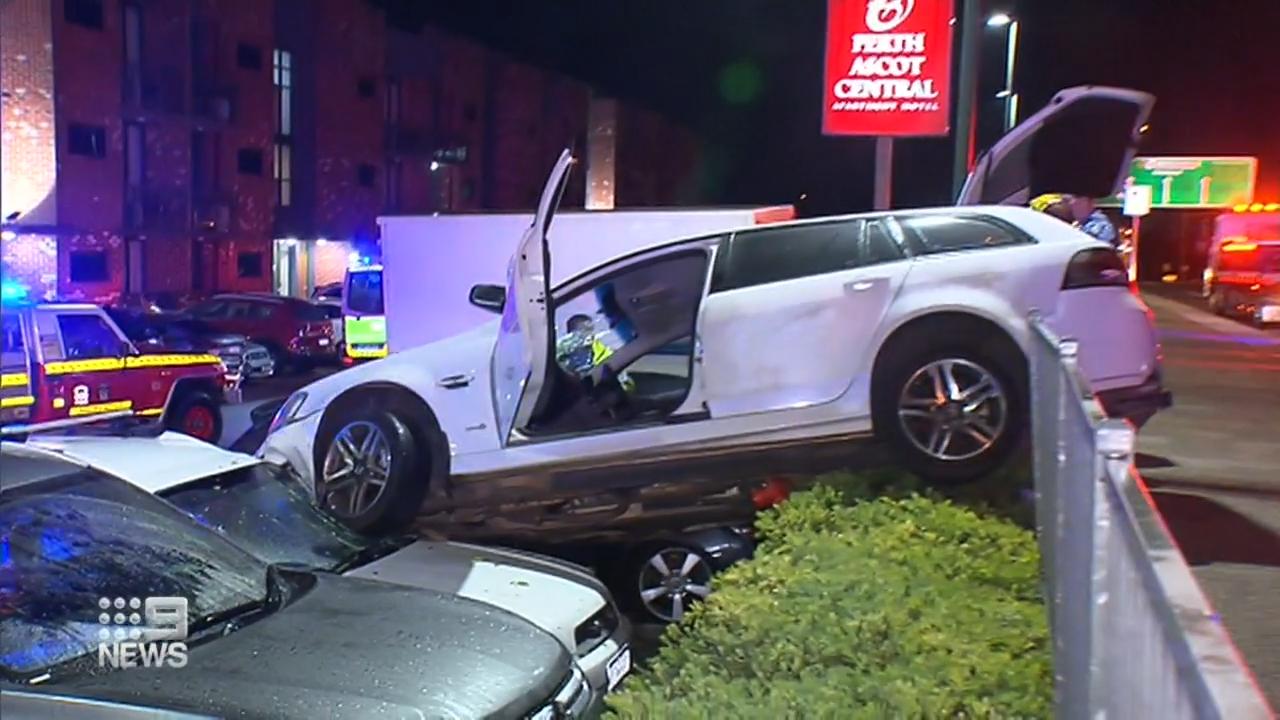 Driver causes midnight mayhem in WA