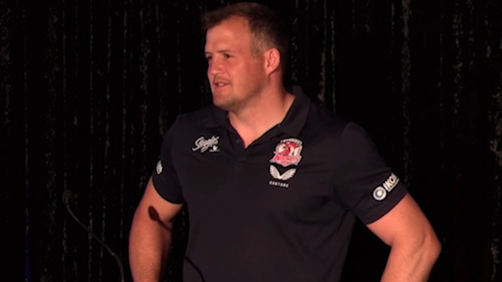 Morris brothers pay tribute to each other at Roosters awards night