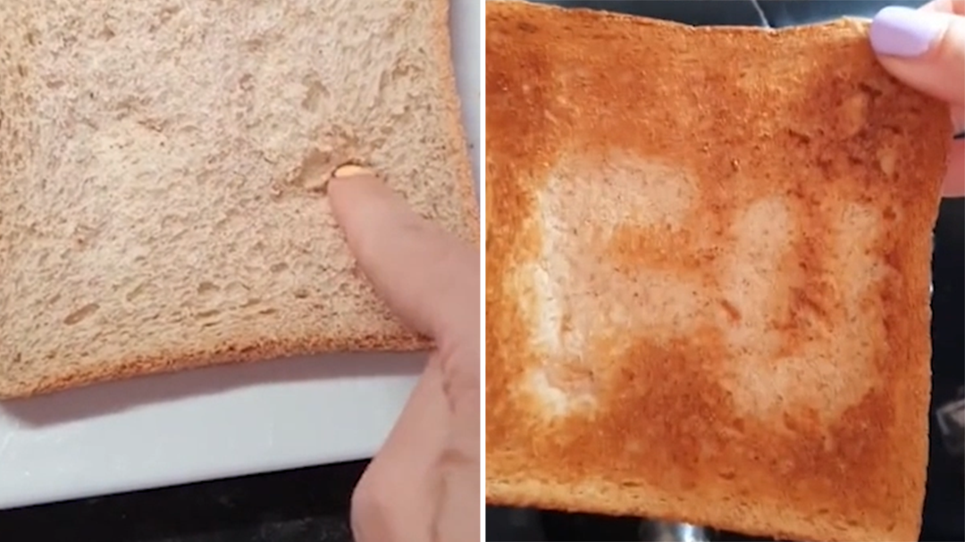 Tiktok trick to hide messages in toast