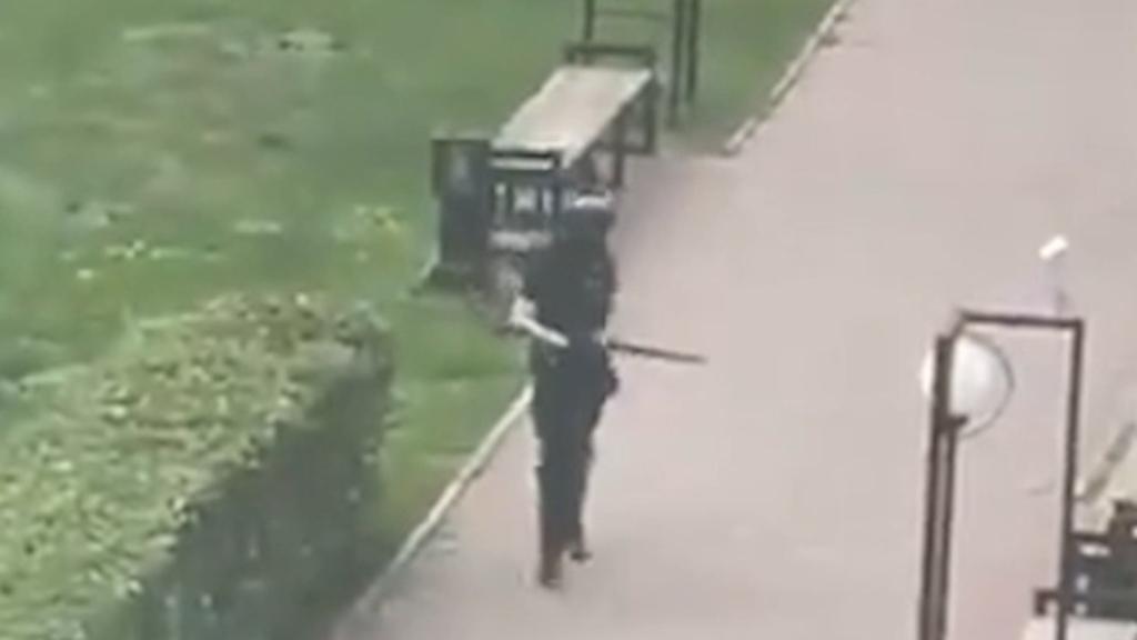 Gunman kills six at Russian university