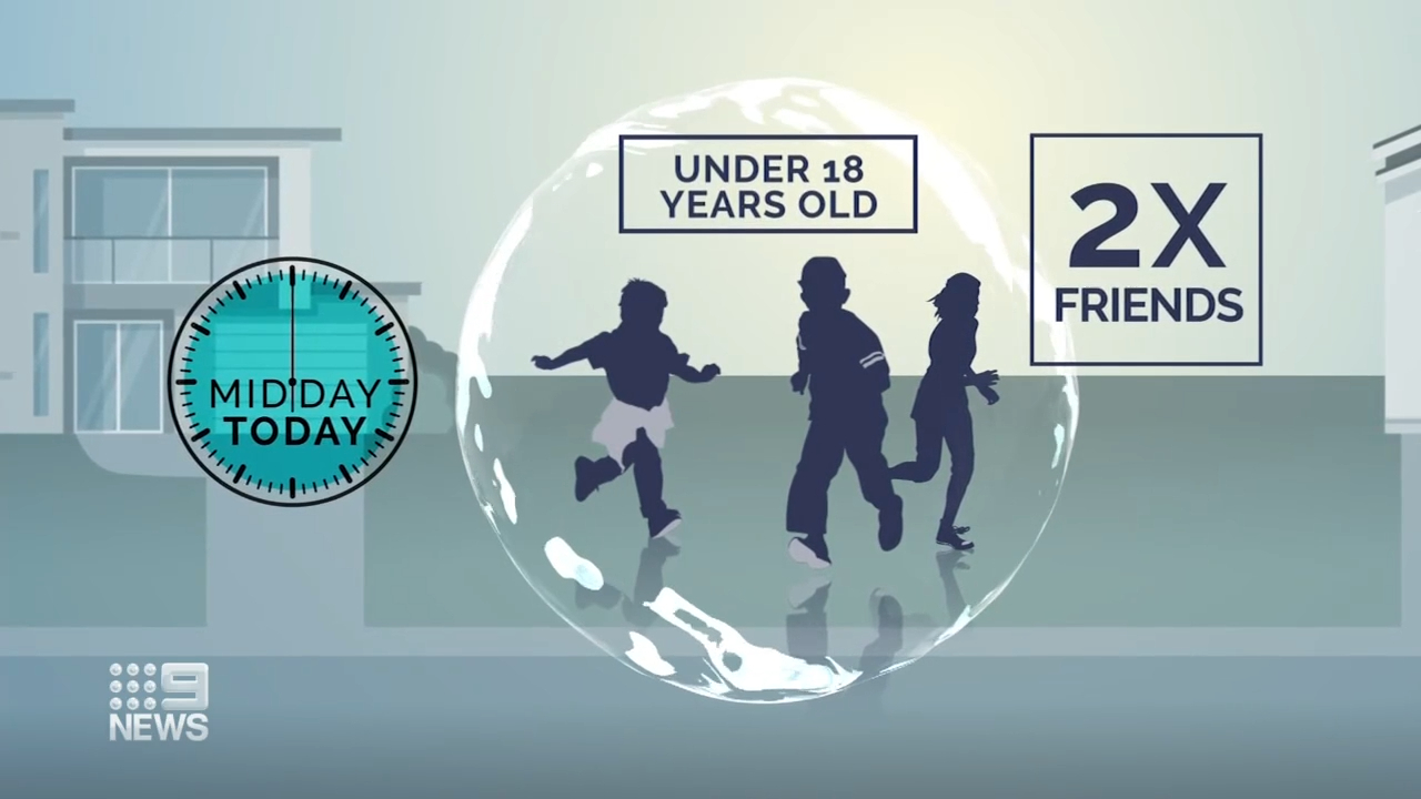 NSW introduces friendship bubble for kids