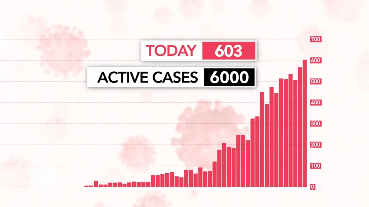 Victorian COVID-19 case numbers hit new record