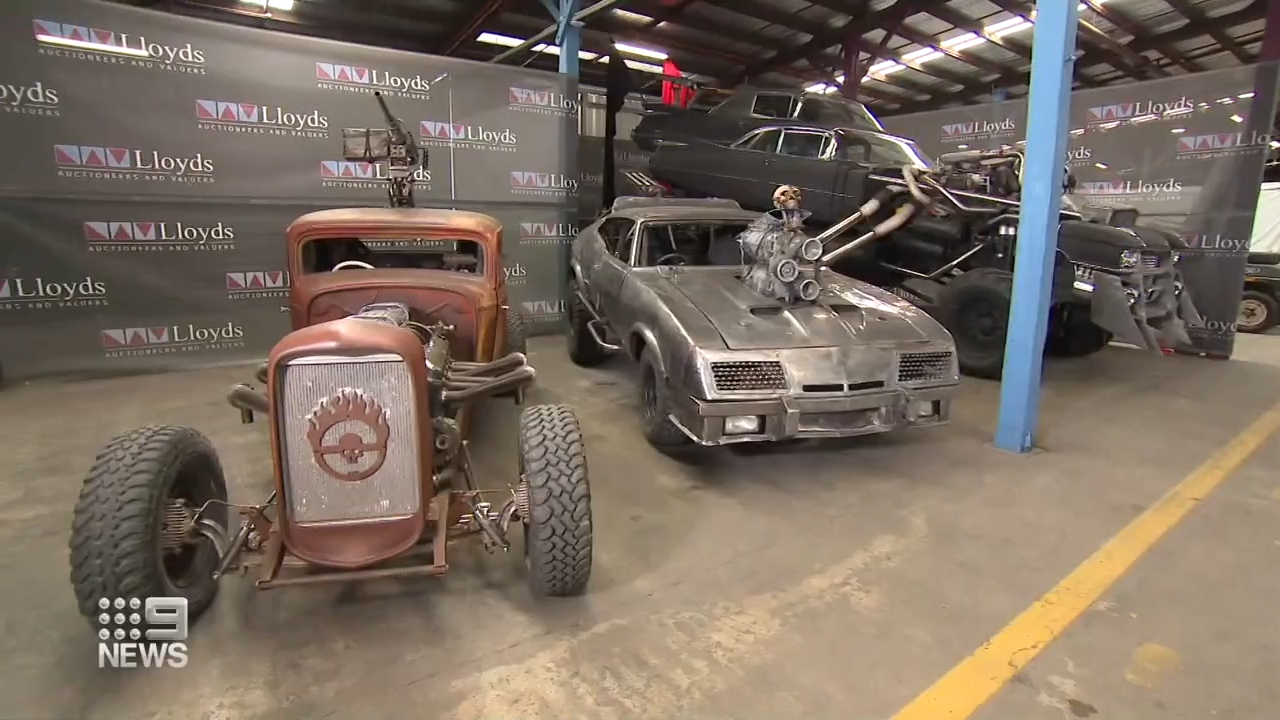 Mad Max Fury Road cars up for sale