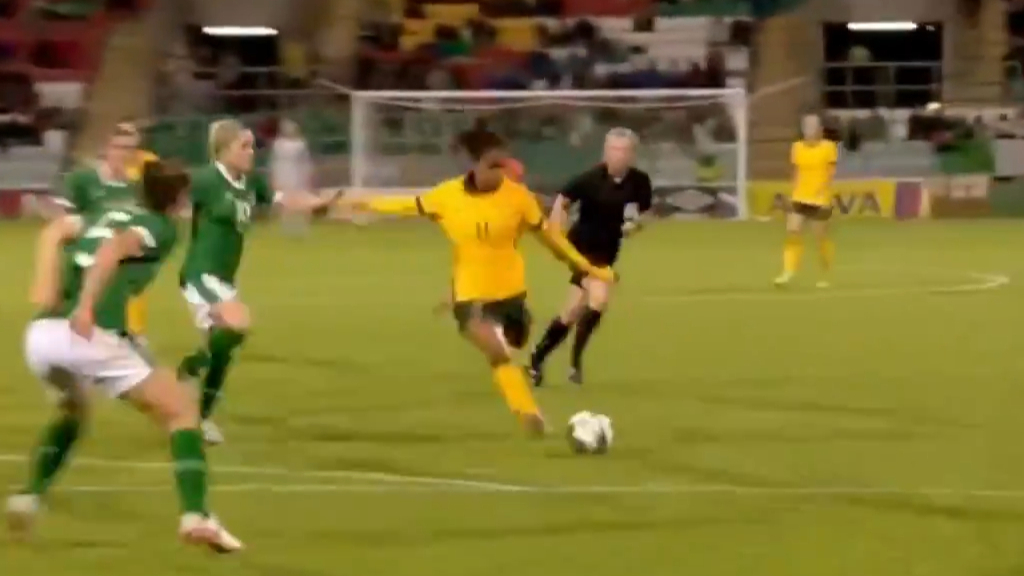 Fowler ties it up for the Matildas