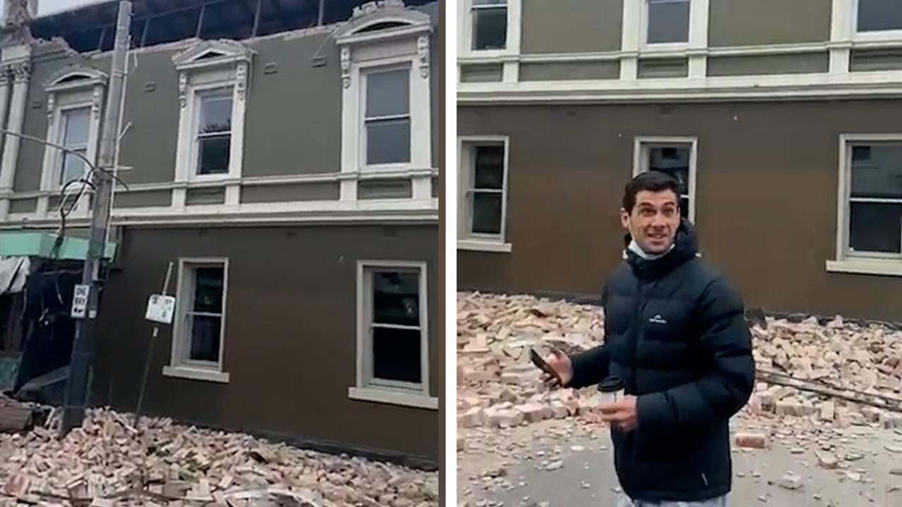 Damage, tremors felt across Melbourne after earthquake