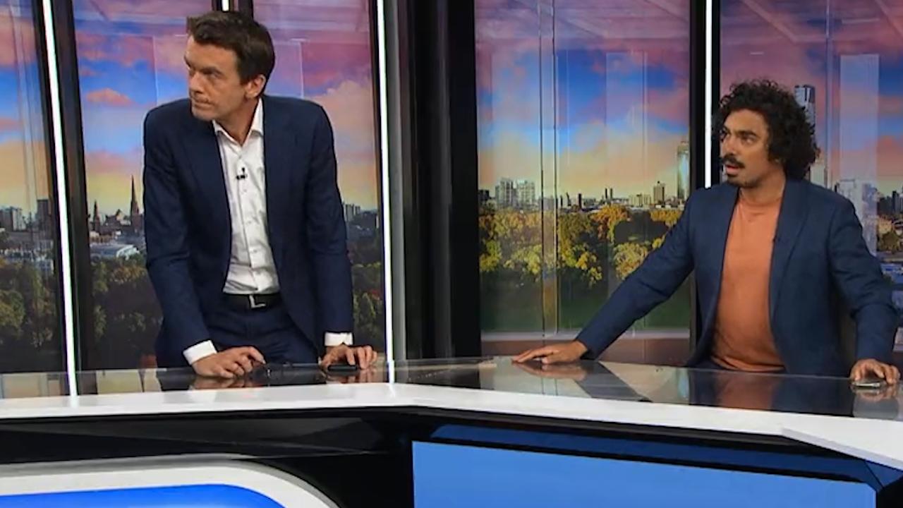 Melbourne earthquake hits ABC studio