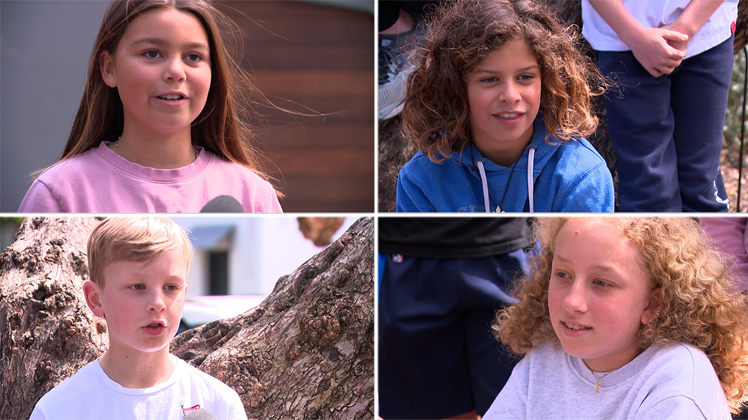 Kids tell 9News why they're excited about the friend bubble