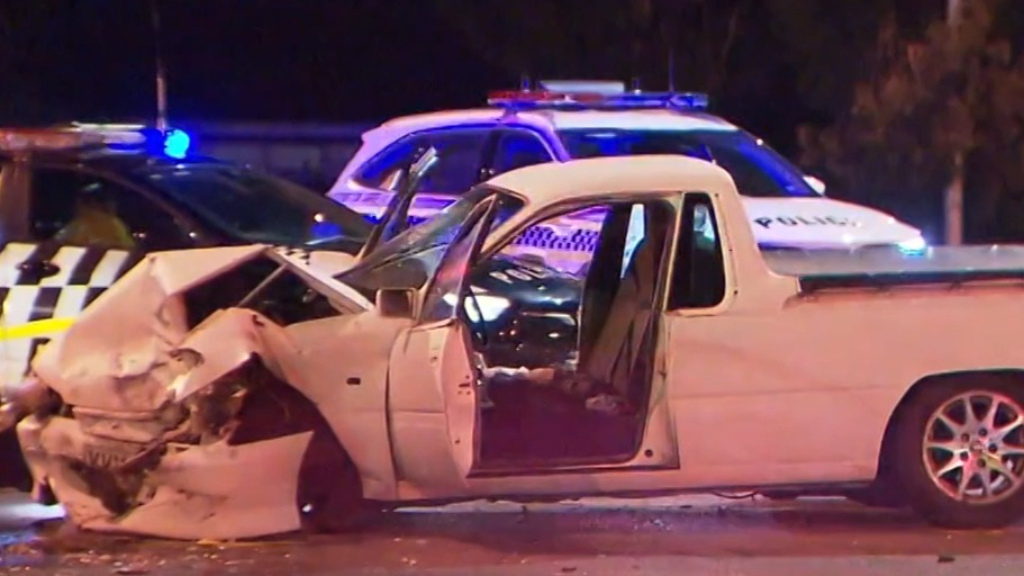 Police search for driver after passenger left injured following crash