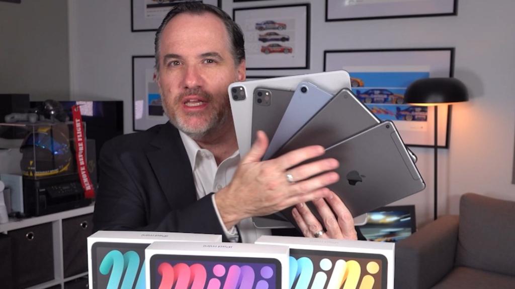 Testing out the new iPad mini