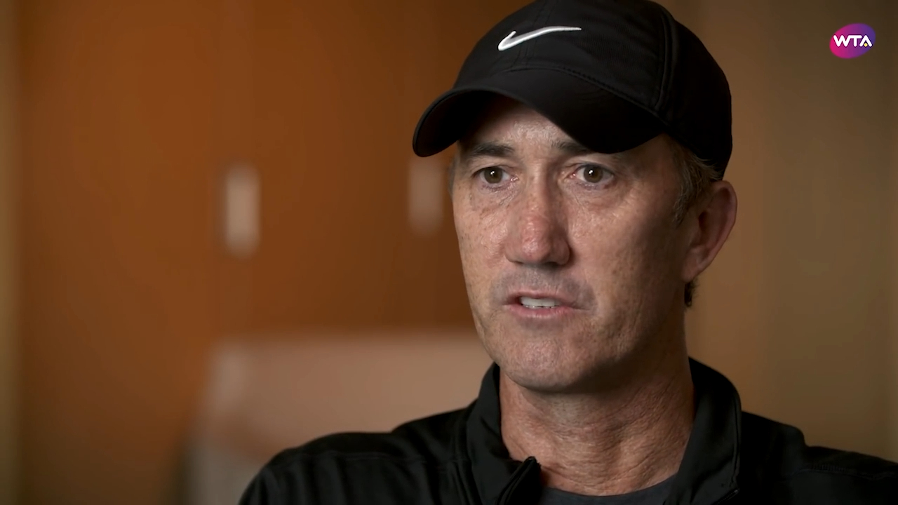 Darren Cahill reflects on coaching Simona Halep`
