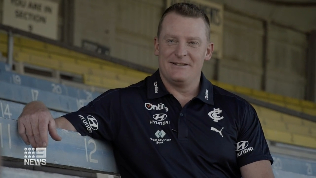 Voss named as Carlton Blues coach