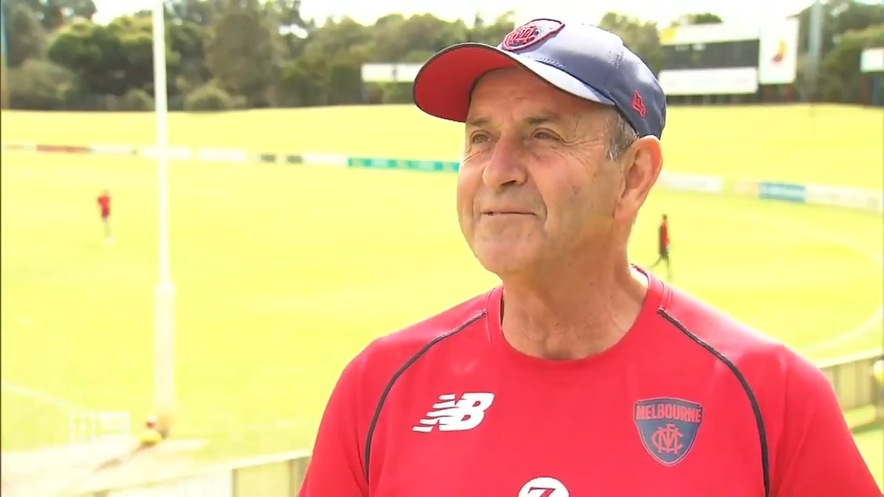 Demons trainer's key role ahead of grand final