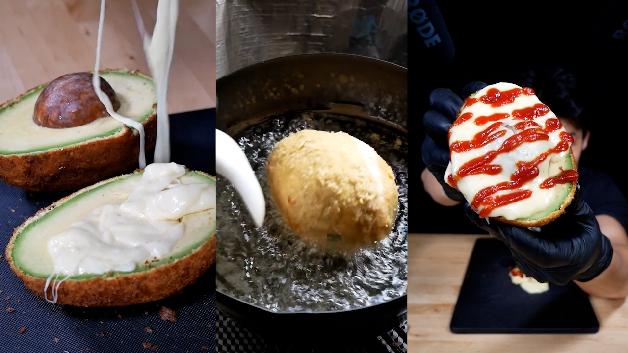 Fried avocado Tiktok gets 17 million views