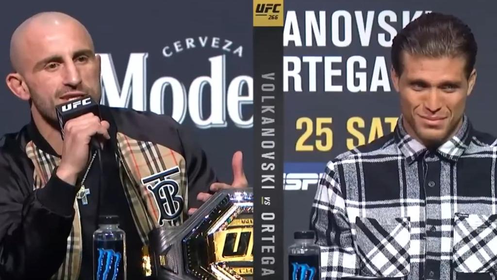 Volkanovski slams 'weak, unprofessional' opponent ahead of UFC 266